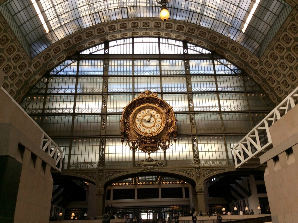 The Musée d'Orsay, Paris; from a travel blog by www.traveljunkiegirl.com