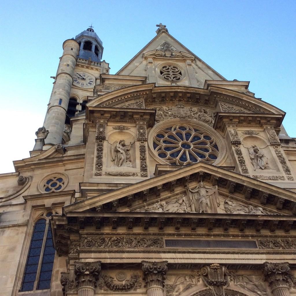 St-Etienne-du-Mont, Paris; from a travel blog by www.traveljunkiegirl.com