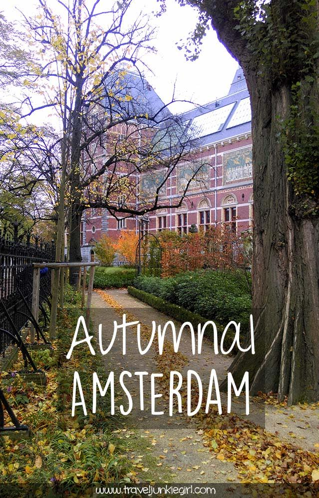 Discover Autumn in Amsterdam, a blog by www.traveljunkiegirl.com