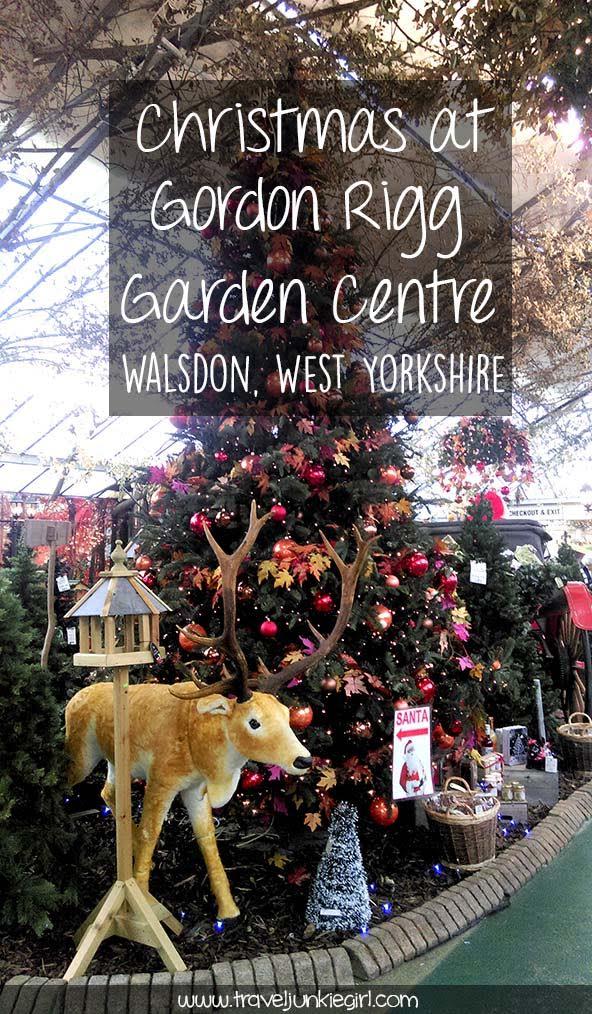 Christmas at Gordon Rigg Garden Centre, Walsden, West Yorkshire; from a travel blog by www.traveljunkiegirl.com
