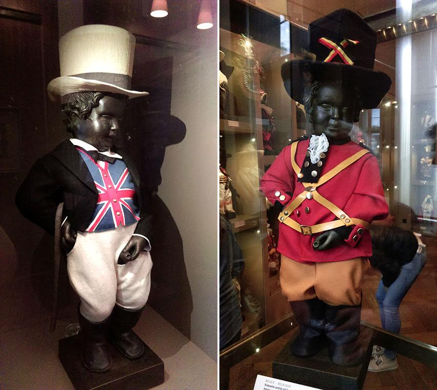 The Manneken Pis's Costumes housed at the Maison du Roi, Brussels, Belgium; from a travel blog by www.traveljunkiegirl.com