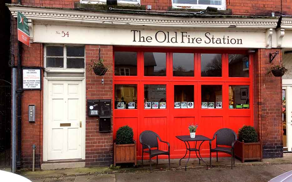 The Old Fire Station in Tarporley, Cheshire, UK; from a travel blog by www.traveljunkiegirl.com