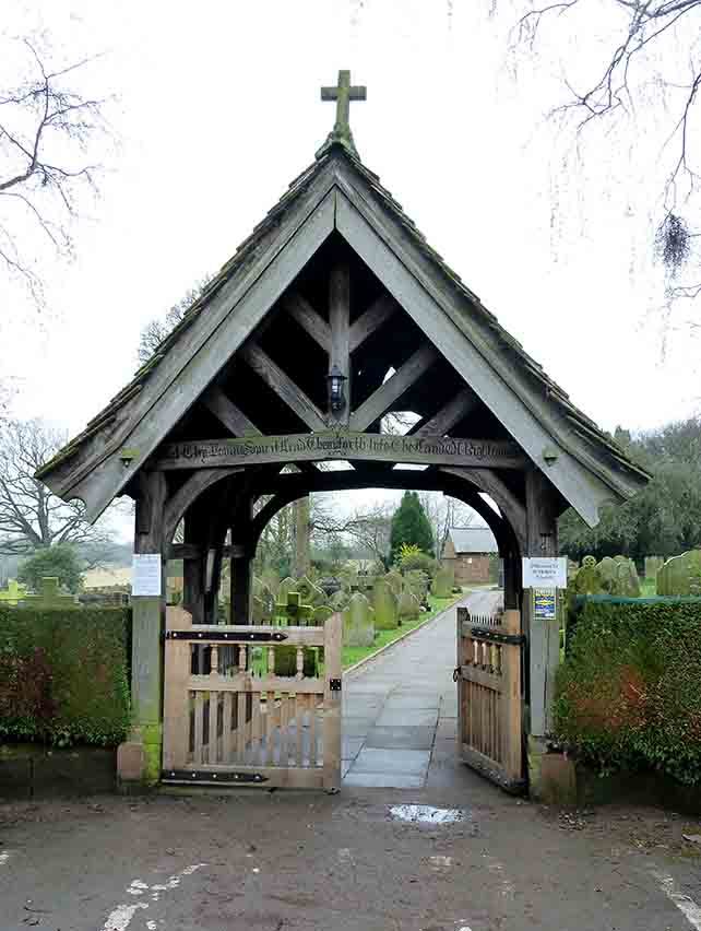 St Helen's Church Lych Gate, Tarporley, Cheshire, UK; from a travel blog by www.traveljunkiegirl.com