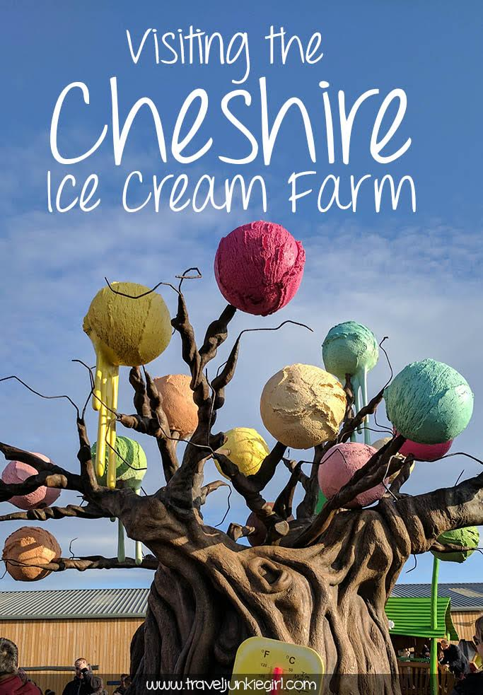 Visiting the Cheshire Ice Cream Farm, a leading visitor attraction; from a blog by www.traveljunkiegirl.com