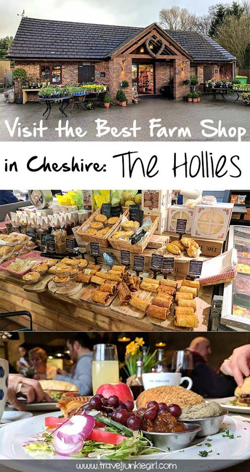 All about visiting the Hollies Farm Shop, Cheshire; from a travel blog by www.traveljunkiegirl.com
