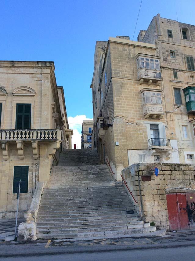 Surprising to find British Red post boxes in Valletta, Malta; from a travel blog by www.traveljunkiegirl.com
