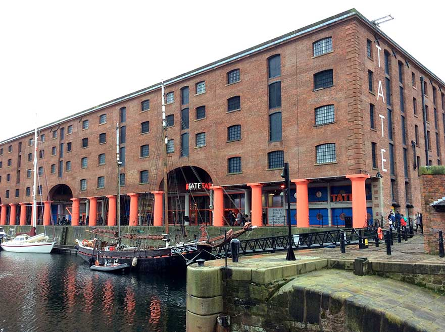 Albert Dock, discovered on the Sandemans Liverpool Walking Tour; from a travel blog by www.traveljunkiegirl.com