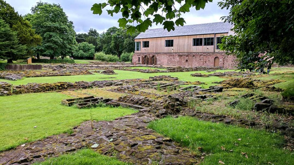 Norton Priory in Cheshire; from a cultural travel blog by www.traveljunkiegirl.com