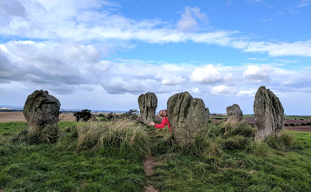 Duddo Stone Circle in Northumberland, England; from a cultural travel blog by www.traveljunkiegirl.com