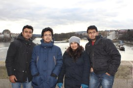 Cold winters in prague