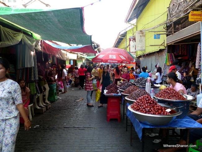 سوق Bogyoke Aung San