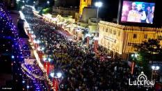 Crowds at Ganjing Carnival