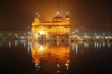 We arrived in Amritsar at night, and went directly to see the beautifully lit Golden Temple.