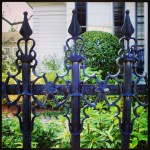 Decorative Finials in the Garden District
