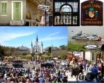 New Orleans French Quarter Collage via @TravelLatte