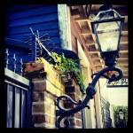 New Orleans Street Lamp in the French Quarter