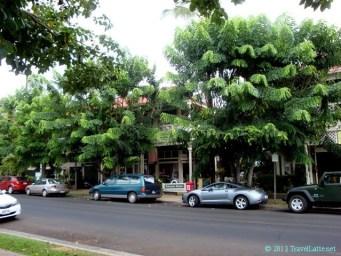 Dickenson Square in quaint Lahaina town.