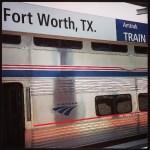 Amtrak Superliner Snack Car at Fort Worth Station