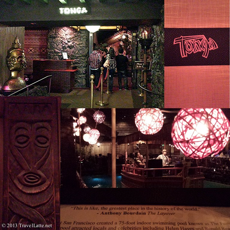Tonga Room Photo Collage