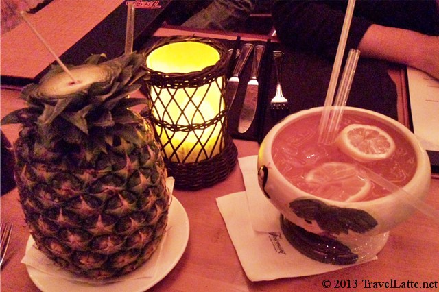 Tonga Room Drinks