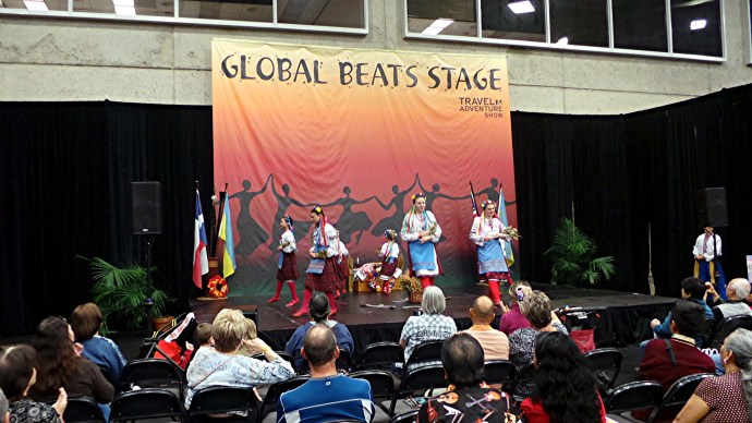 Ukranian Dance Ensemble at the Dallas Travel Adventure Showa