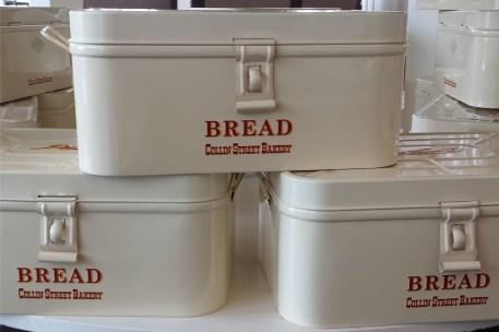 Photo: Collin Street Bakery bread boxes