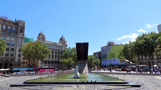 Photo of Placa Catalunya in Barcelona