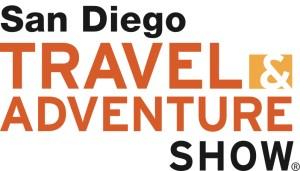 Logo: Travel Adventure Show, San Diego