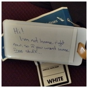 Photo: What Your Luggage Tag Really Says