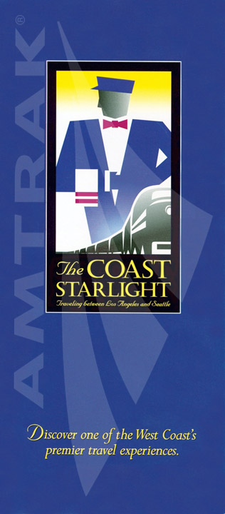 Amtrak Coast Starlight Brochure