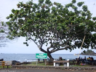 At the end of The Road is Hana Beach Park! You are going to love it here - we did not want to leave!