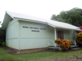 The Hana Cultural Center Museum was established by village elders to help preserve and tell of the region's culture. Inside you can learn about early Hawaiians and life in Hana.