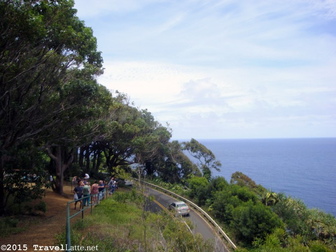 In some places, the Road to Hana is literally at the edge of the island! But the views are magnificent.