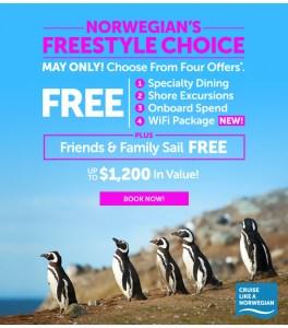 Image: Norwegian's Freestyle Choice