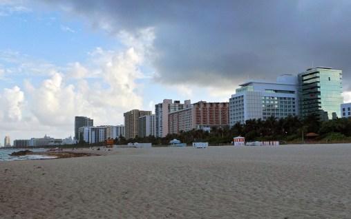 Photo: Miami Beach oceanfront cityscape
