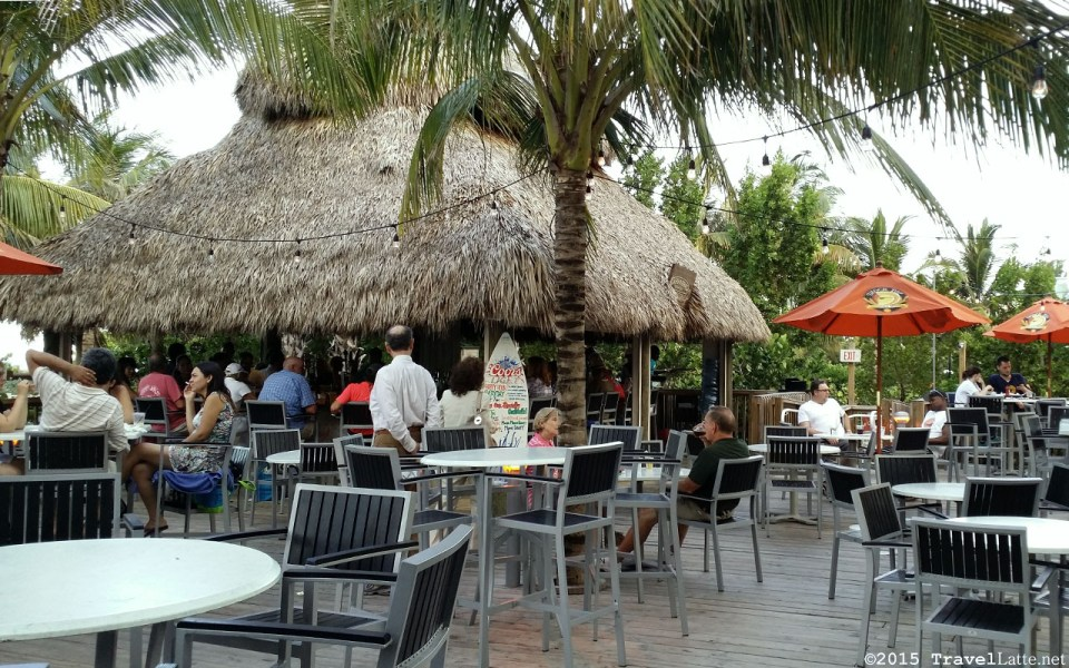 Photo: Surfside Tiki Bar at the Courtyard Cadillac Hotel