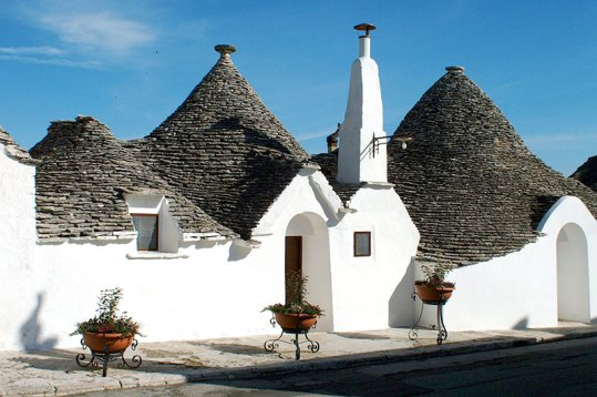 Travel To Do: Stay in a traditional trullo building of Alberobello, Italy.