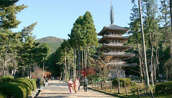 Photo: Daigo-ji Temple Pagoda Kyoto