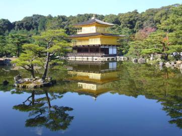 Photo: The Golden Pagoda Kyoto