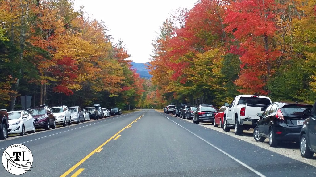 Overflow Parking along the Kancamagus via @TravelLatte.net