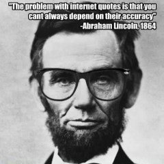 Lincoln Internet Meme