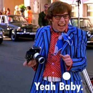 Austin Powers via @TravelLatte. Yeah, Baby!