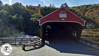 The 1832 Bath (NH) Covered Bridge