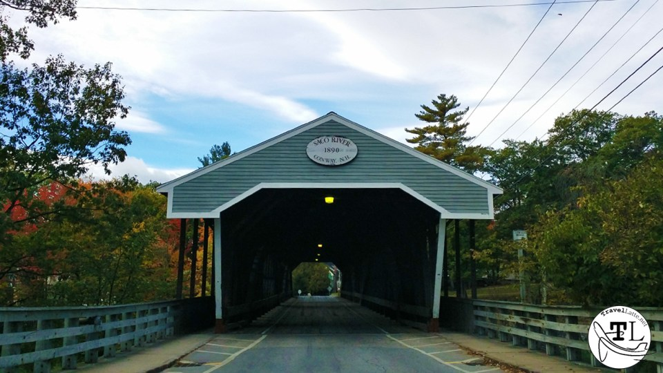 1890 Saco River Covered Bridge in Conway NH