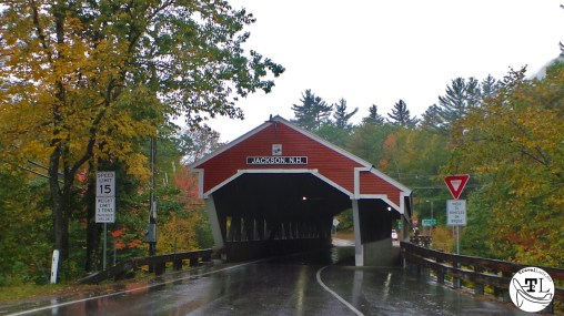 The Jackson Honeymoon Covered Bridge in Jackson NH