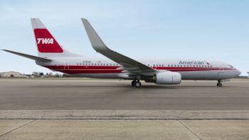 Photo: American Airlines TWA Heritage Plane