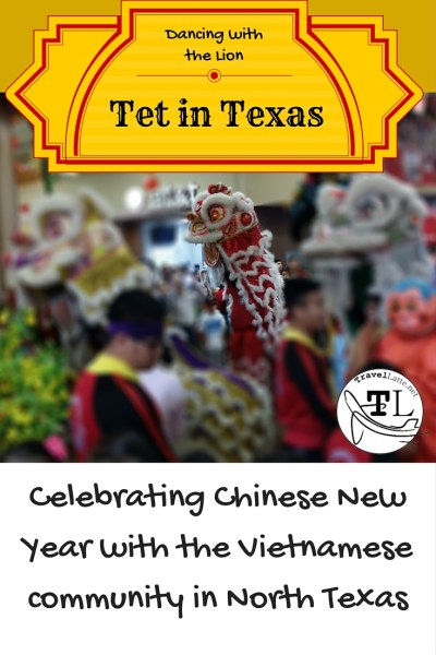 Tet in Texas: Dancing with the Lion Pin
