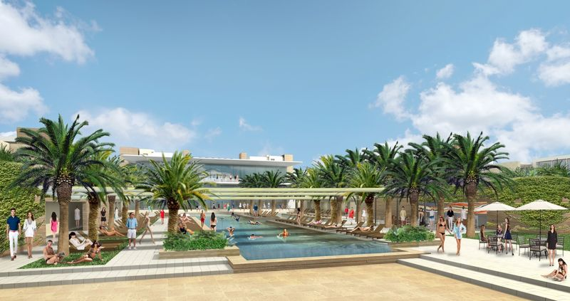 Rendering of the Ritz-Carlton Paradise Valley