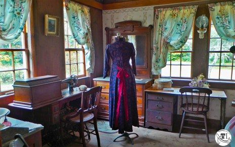 Ruth Colath's Room in the Russell-Colbath House, via @TravelLatte