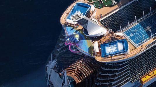 Sport Zone on Harmony of the Seas, via @TravelLatte.net
